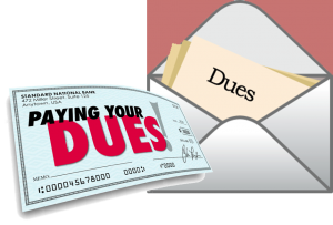 State Dues to National @  |  |